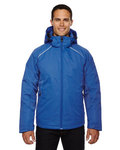 Men's Linear Insulated Jacket with Print