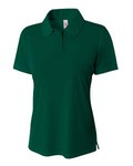 Ladies' Solid Interlock Polo